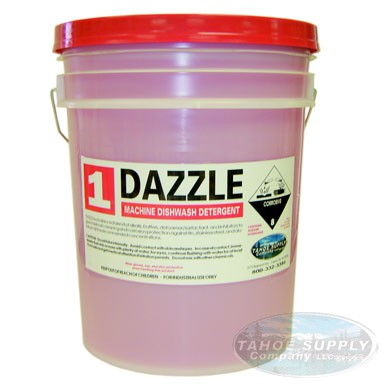 Dazzle Machine Dishwash Detergent 5gal