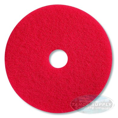 "Floor Pad 11"" Red/Buff 5/cs"