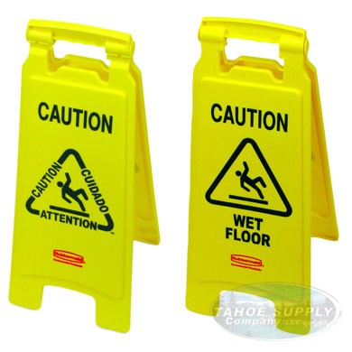 Caution Floor Sign